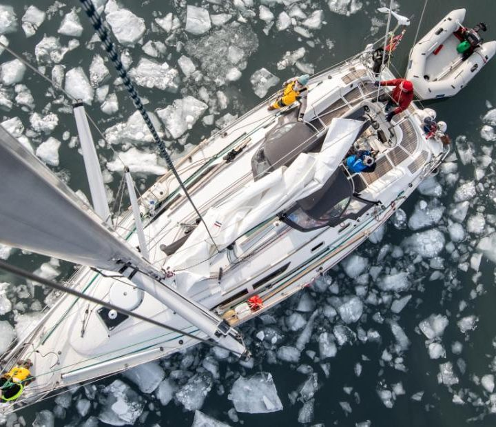 Svalbard, Norway: One woman, four men and weeks in the Arctic ice