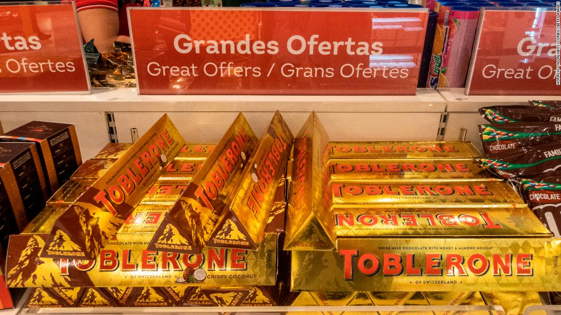 How Toblerone chocolate became connected with air travel