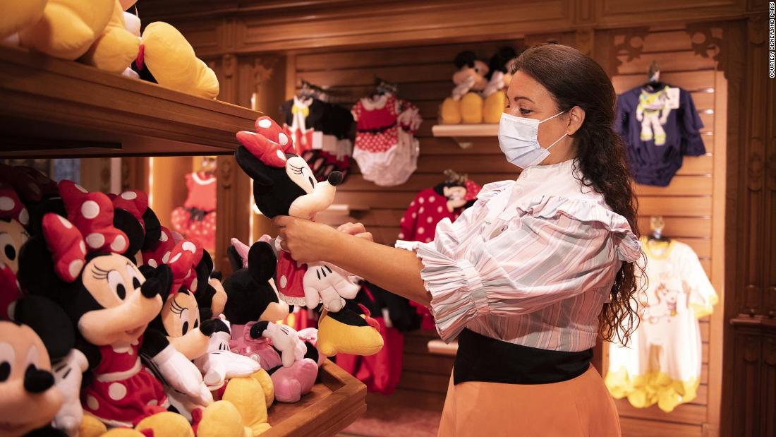 Disneyland Paris reopens with new Covid-19 measures