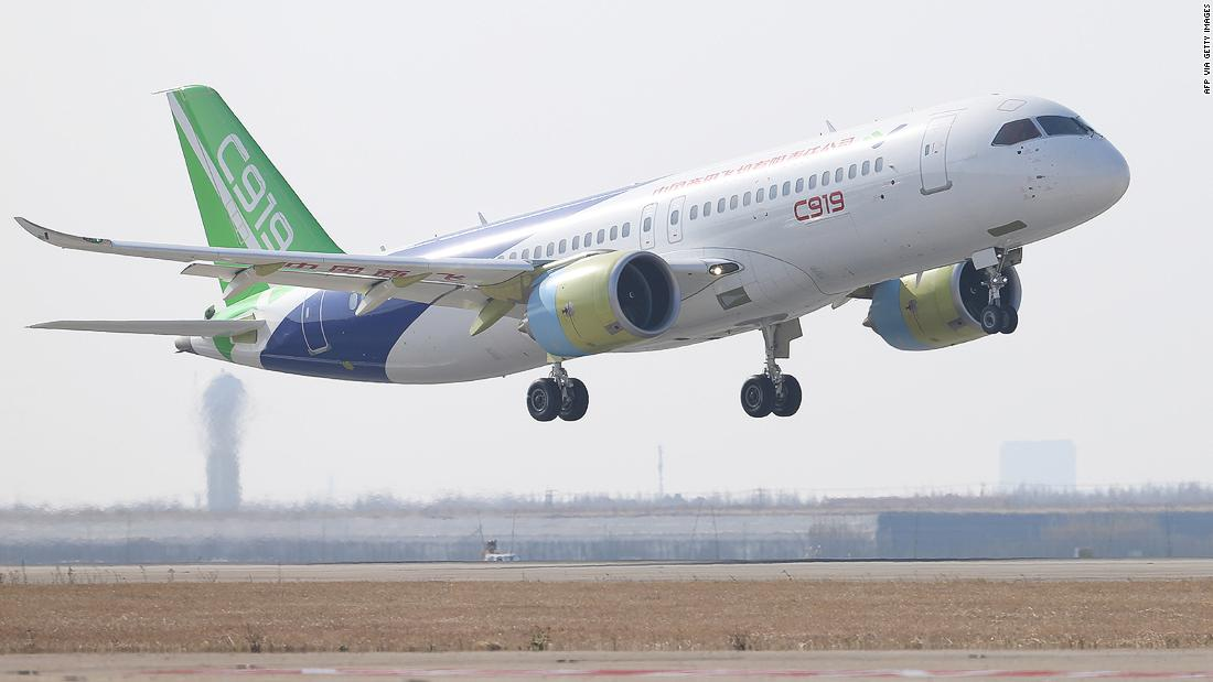 Comac C919: China takes on Airbus and Boeing