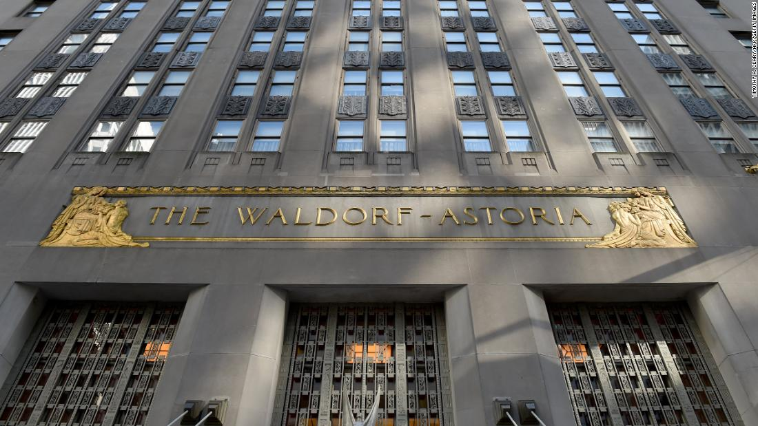 Waldorf Astoria Hotel auctions off 80,000 items ahead of renovation in New York