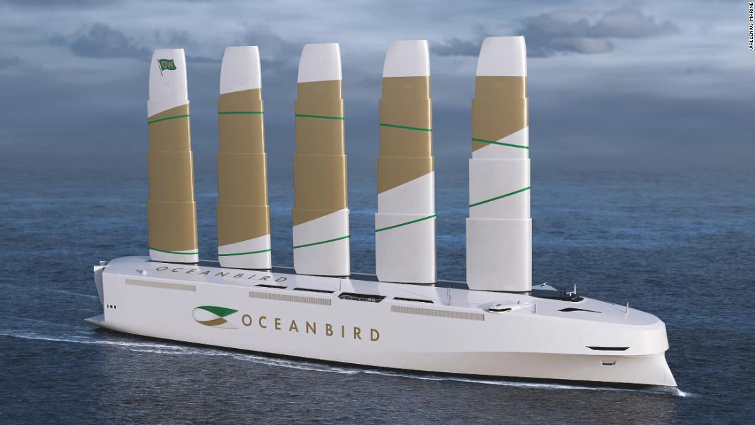 Oceanbird -- Sweden's new car carrier is the world's largest wind-powered vessel