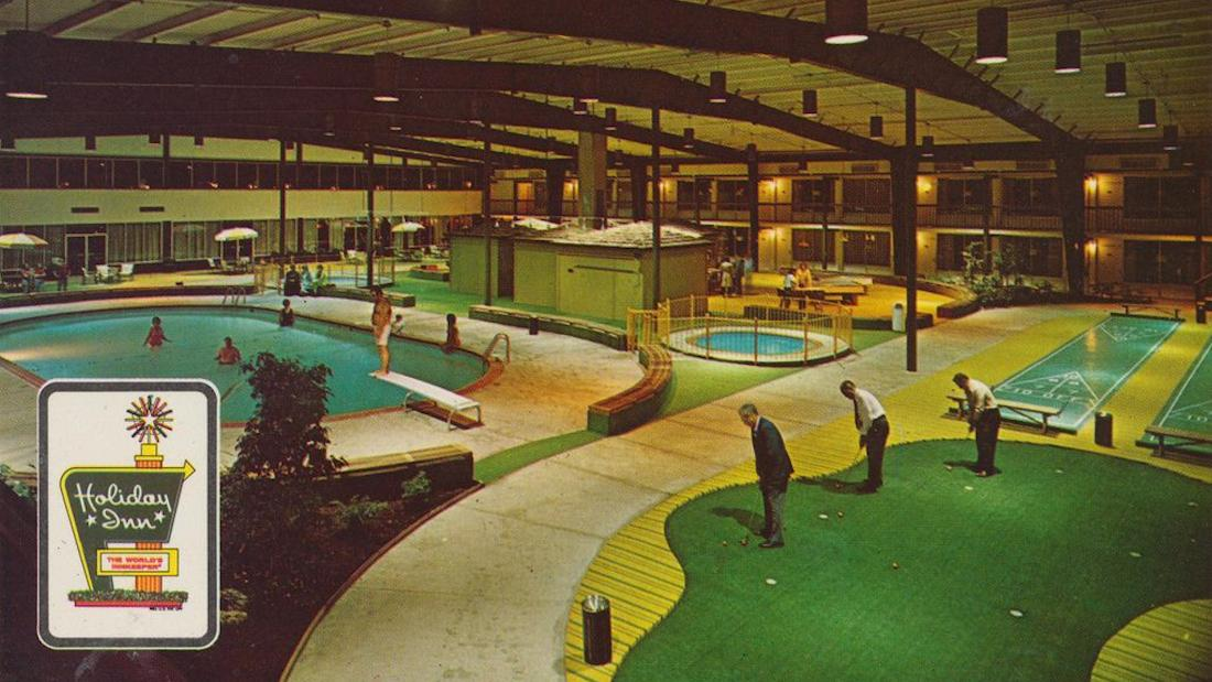 The Holiday Inn Holidome, the hotel amusement park of yesterday
