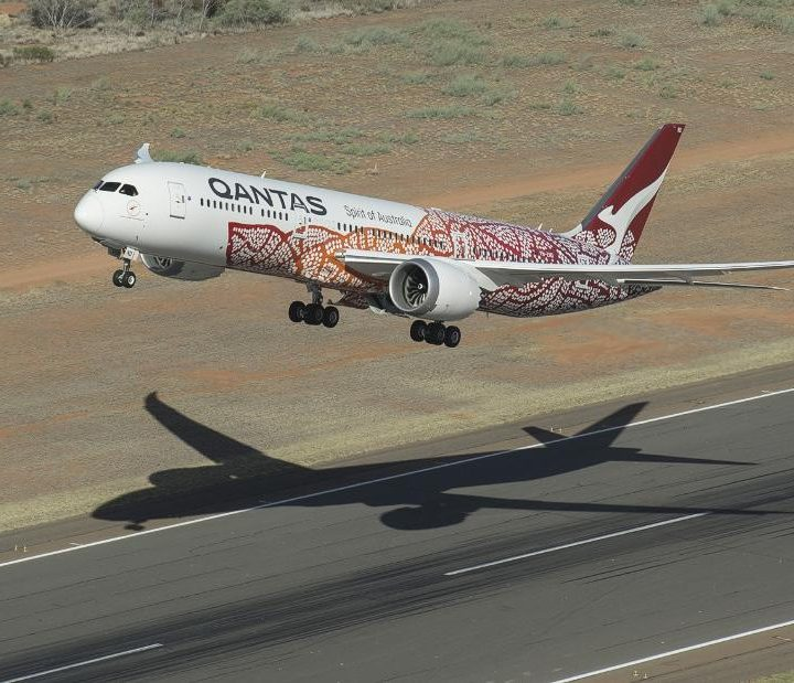 Australian airline Qantas celebrates its 100th anniversary