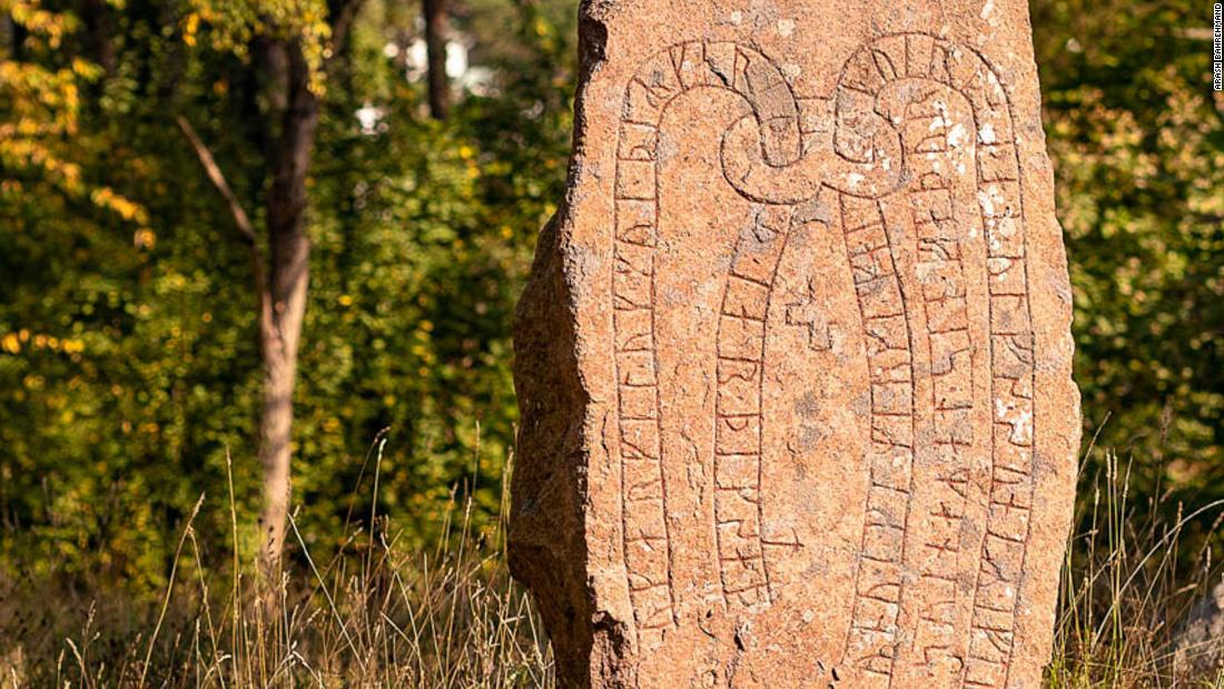 Swedish runestones open gateway to ancient Viking civilization
