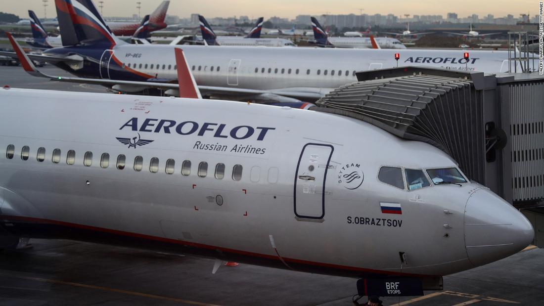Russian airline designates plane seats for passengers who refuse to wear masks