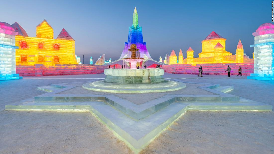 Harbin Snow and Ice Festival: Still open but events canceled due to Covid outbreaks