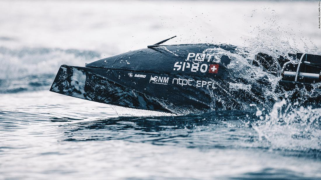 Syroco vs SP80: The race to create the world's fastest sail boat