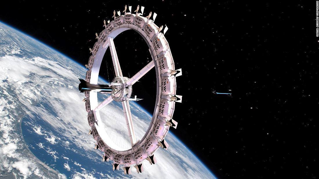 World's first space hotel Voyager Station scheduled to open in 2027