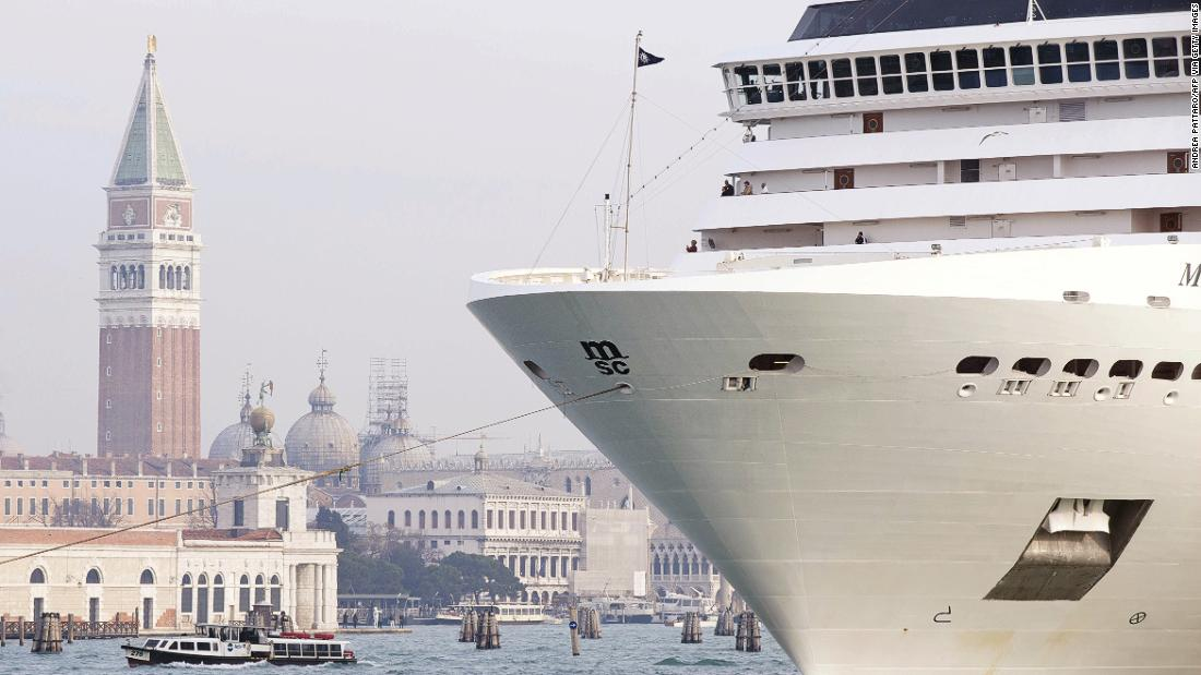 Venice finally bans cruise ships from its lagoon
