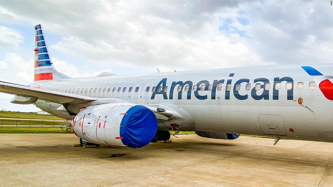 How American Airlines takes planes out of storage