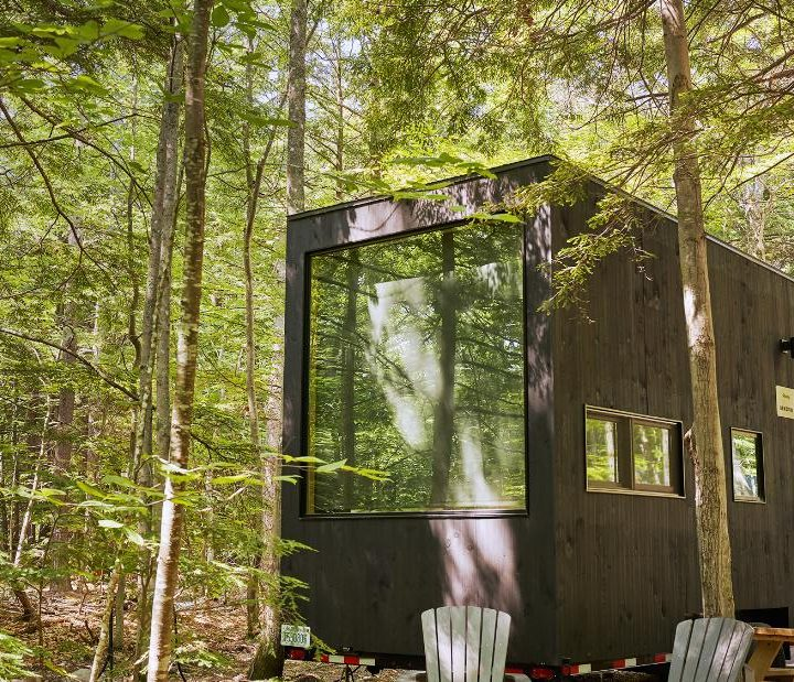 Tiny Getaway cabins become hot property for pandemic mini-vacations
