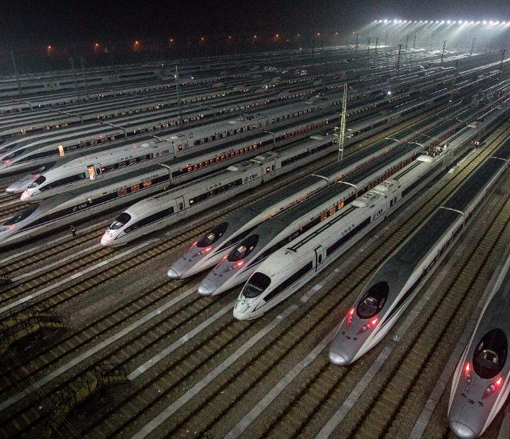 How China's high-speed rail network got built so fast