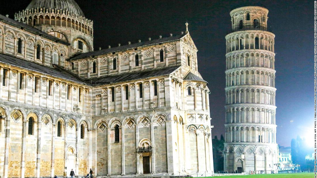 Now open: From the Bahamas to the Leaning Tower of Pisa and more