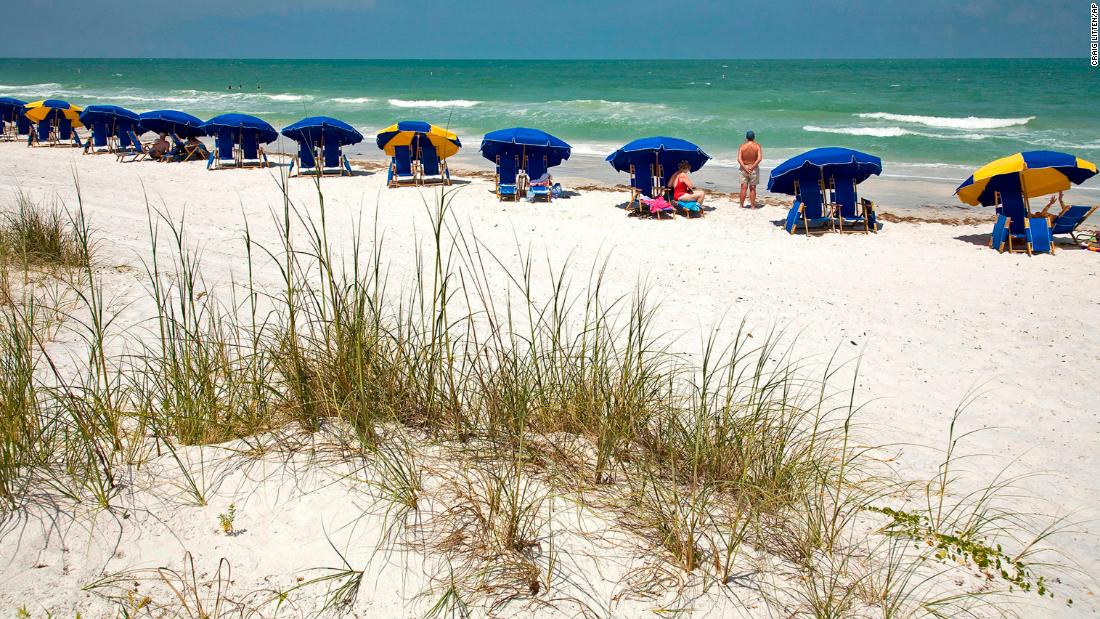 Top 10 US beaches for 2021 from Dr. Beach