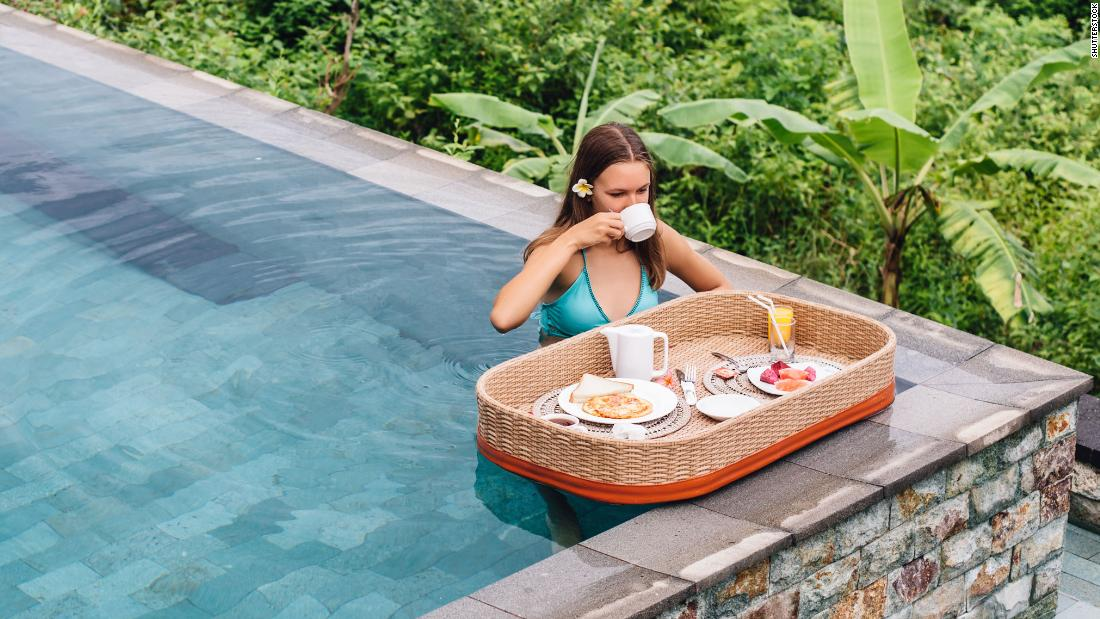 Floating breakfasts: The rise of the hottest luxury resort trend