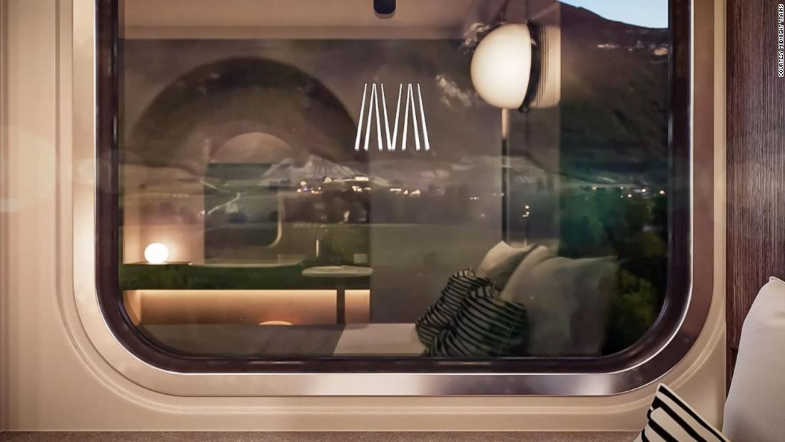 'Hotels on rails': Plans for network of European sleeper trains unveiled