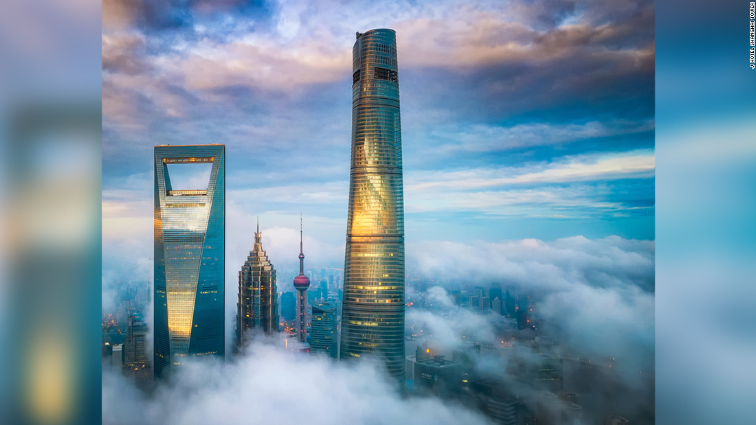 J Hotel Shanghai Tower: World's highest hotel opens in China