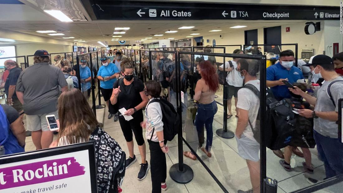 US airports expect long lines and high stress for July 4th travel